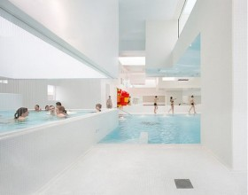 white large indoor pool inspirations
