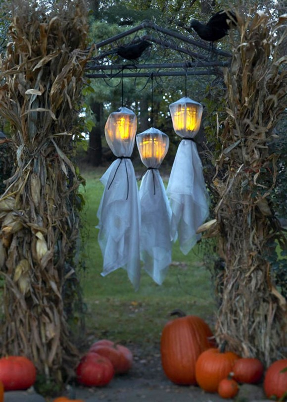 Halloween lamp decorations
