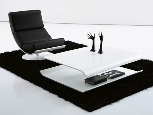 black and white home furniture