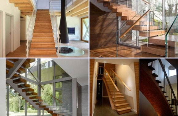 classical wooden staircase constructions