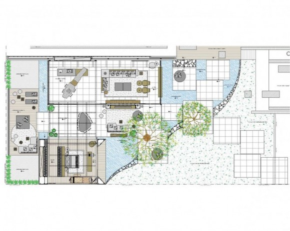 conceptual living space project