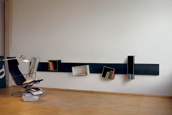 extraordinary magnetic bookshelf