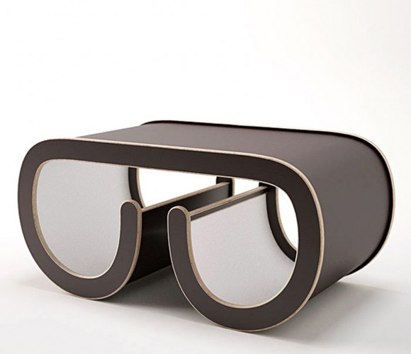 glasses look coffee table plans