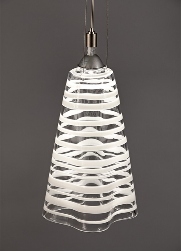 glossy glass lamp designs