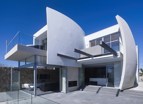 modern concrete home designs