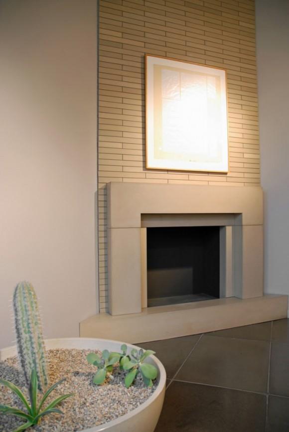 modern fireplace mantels plans