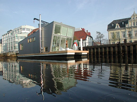 modern houseboat designs pictures