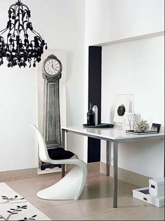 panton chair home office