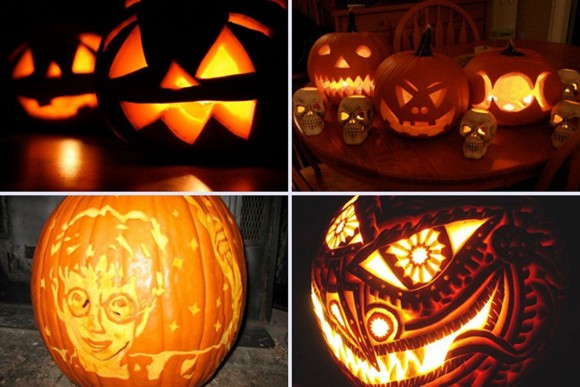 pumpkin carving lamp inspirations
