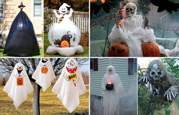 recycle Halloween decor inspirations