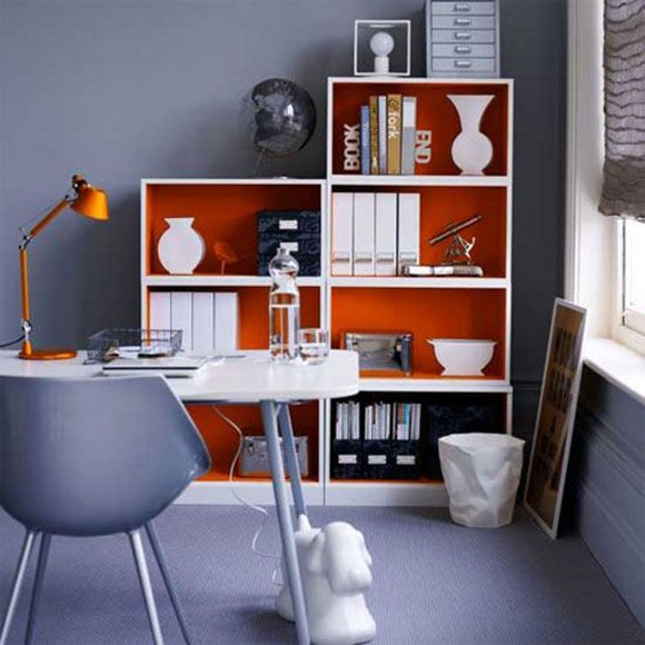 sectional home office decor