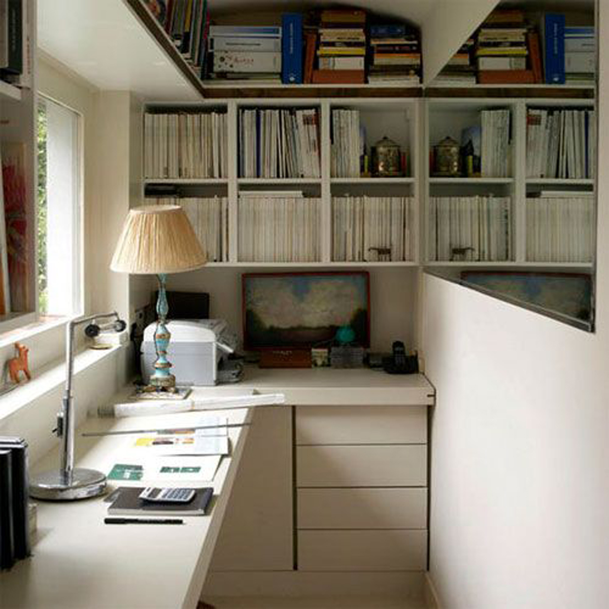 Sectional office interior ideas for Functional home office