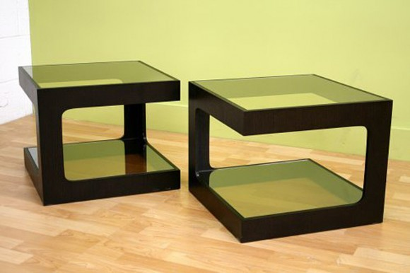 simple square box coffee table