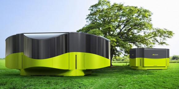 super modern mobile house