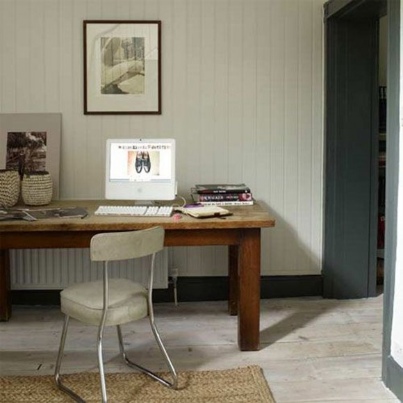 traditional single home office