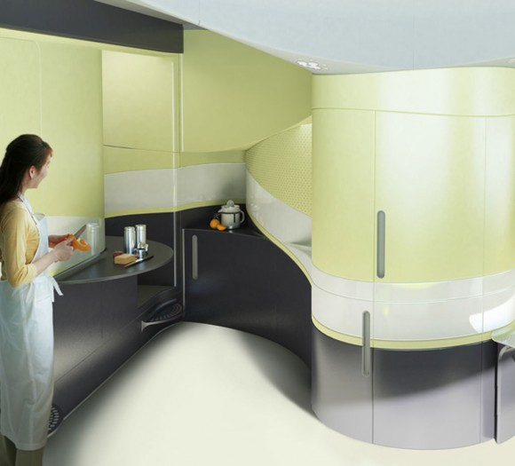 ultra modern kitchen space planer