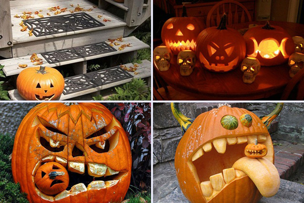 unique pumpkin carving designs
