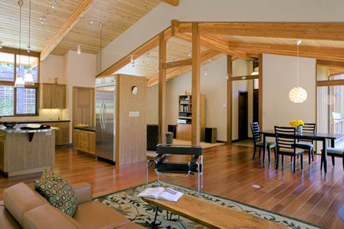 Wooden house interior inspirations for Inside designers homes