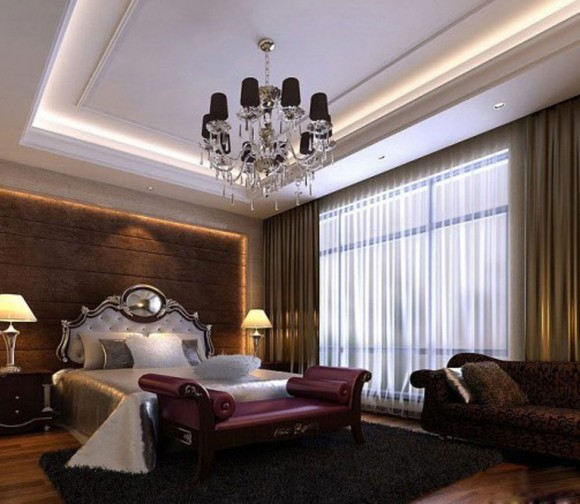 comfortable chinese culture bedroom