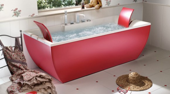 fashionable standing bathtub plans