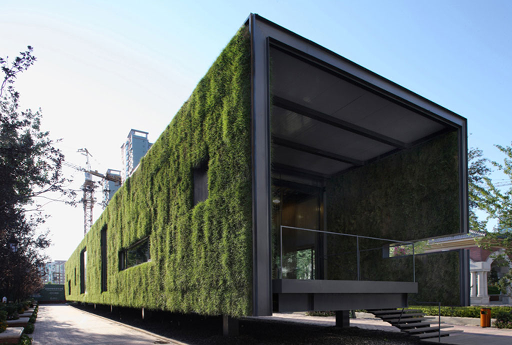 Green container building designs for Build a green home