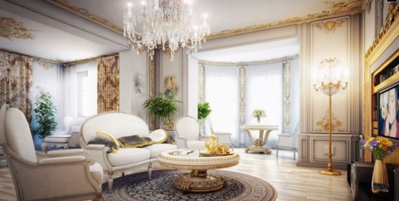 lavish victorian living room designs