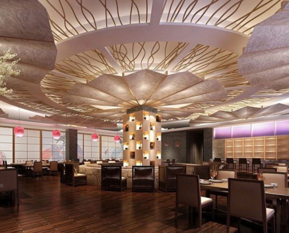 luxurious chinese restaurant project