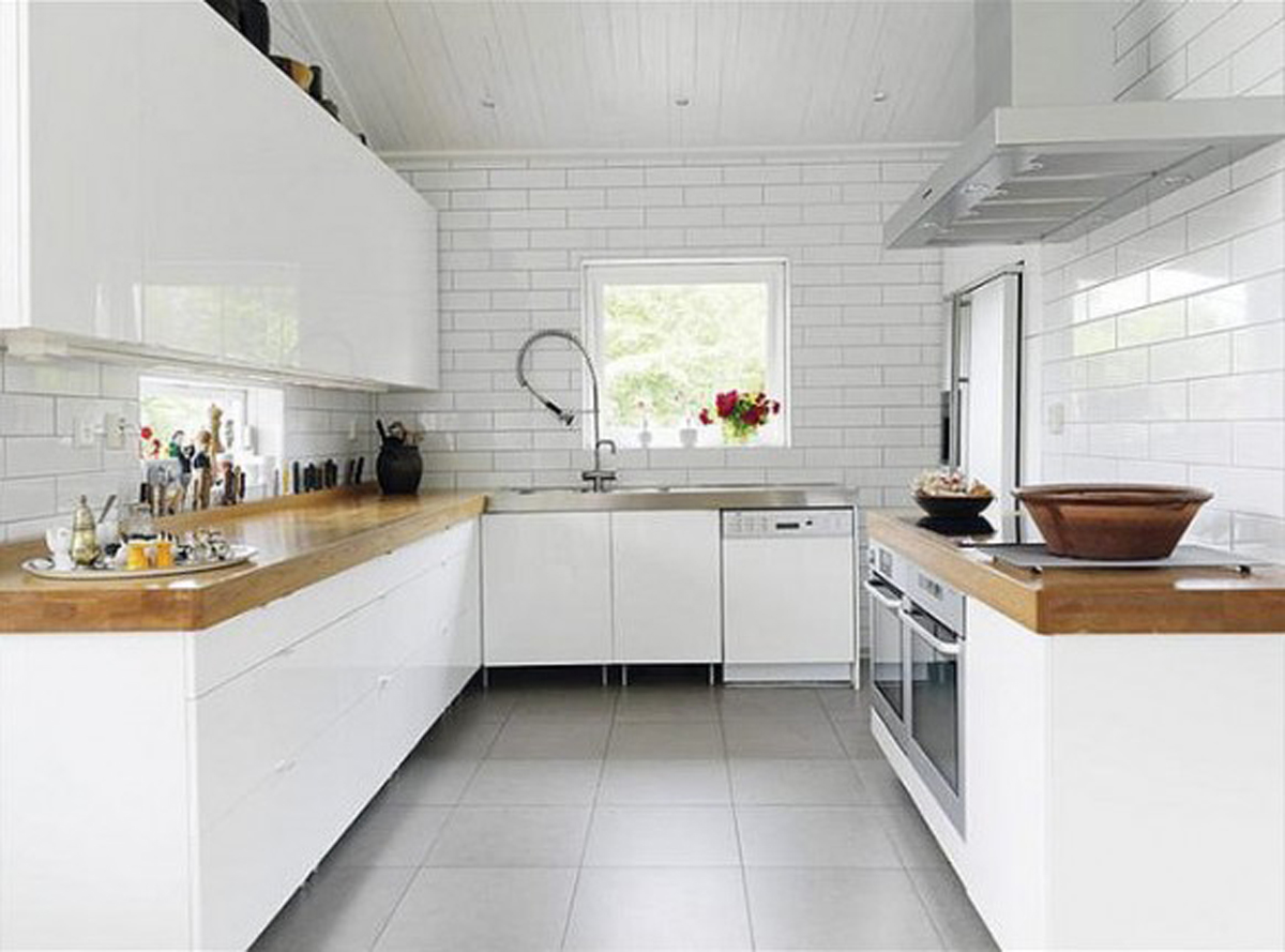 White Kitchen Design Ideas Pictures ~ Minimalist kitchen designs pictures iroonie