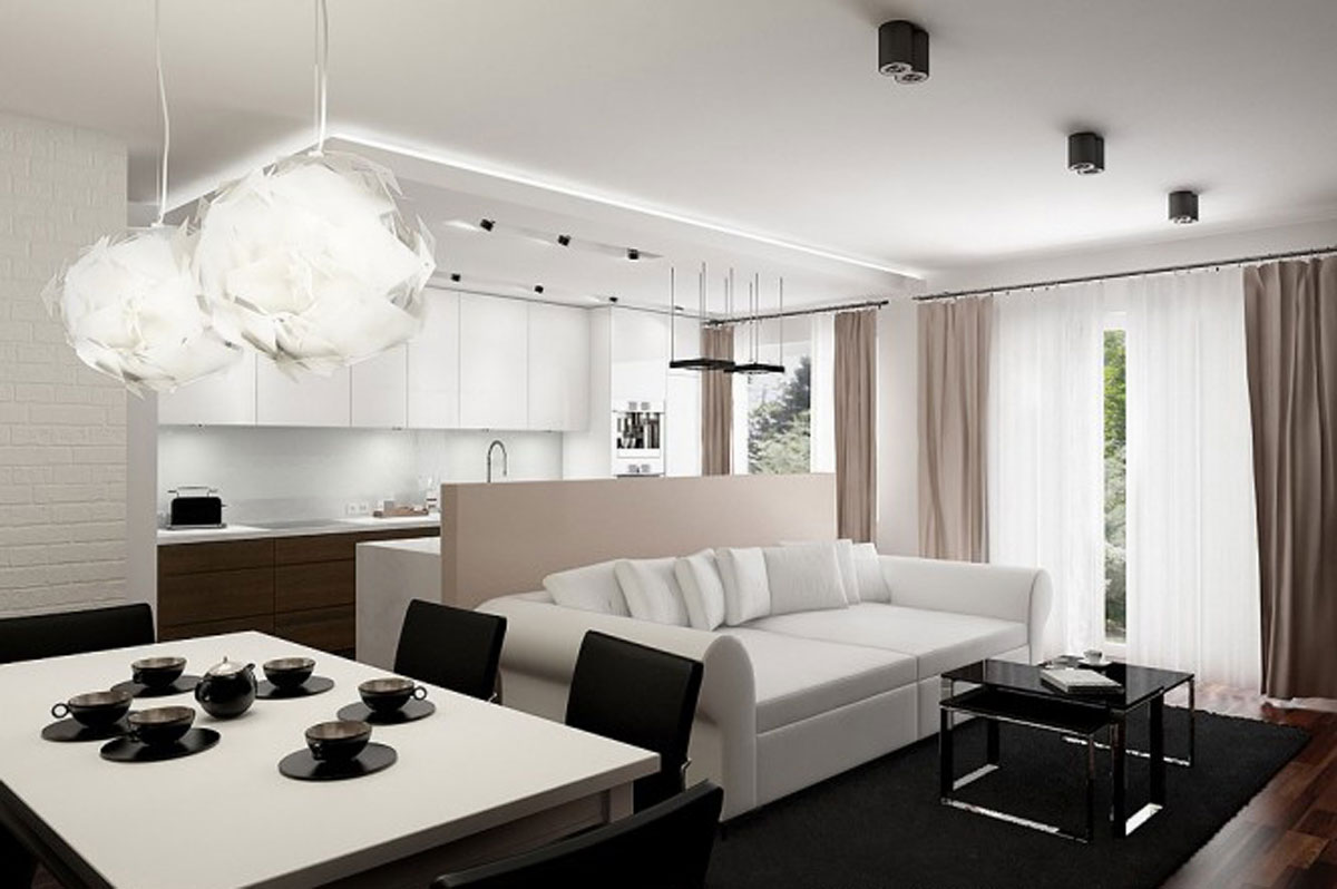 modern small apartment designs - Irooniecom