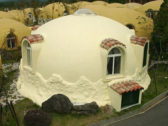 vintage dome house designs