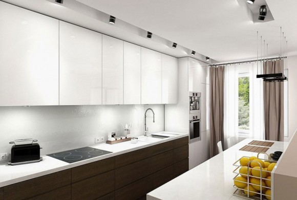 white minimal kitchen ideas