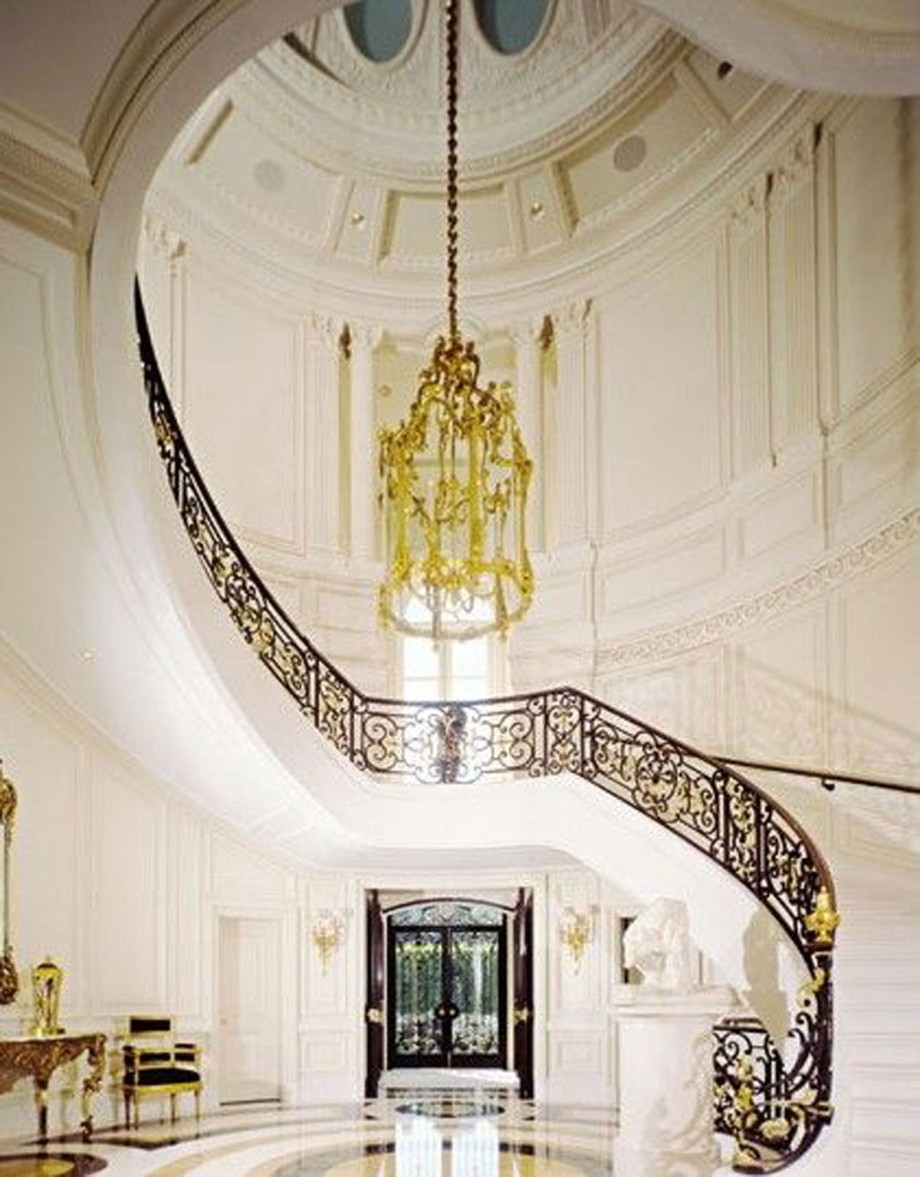 artistic waving staircase ideas