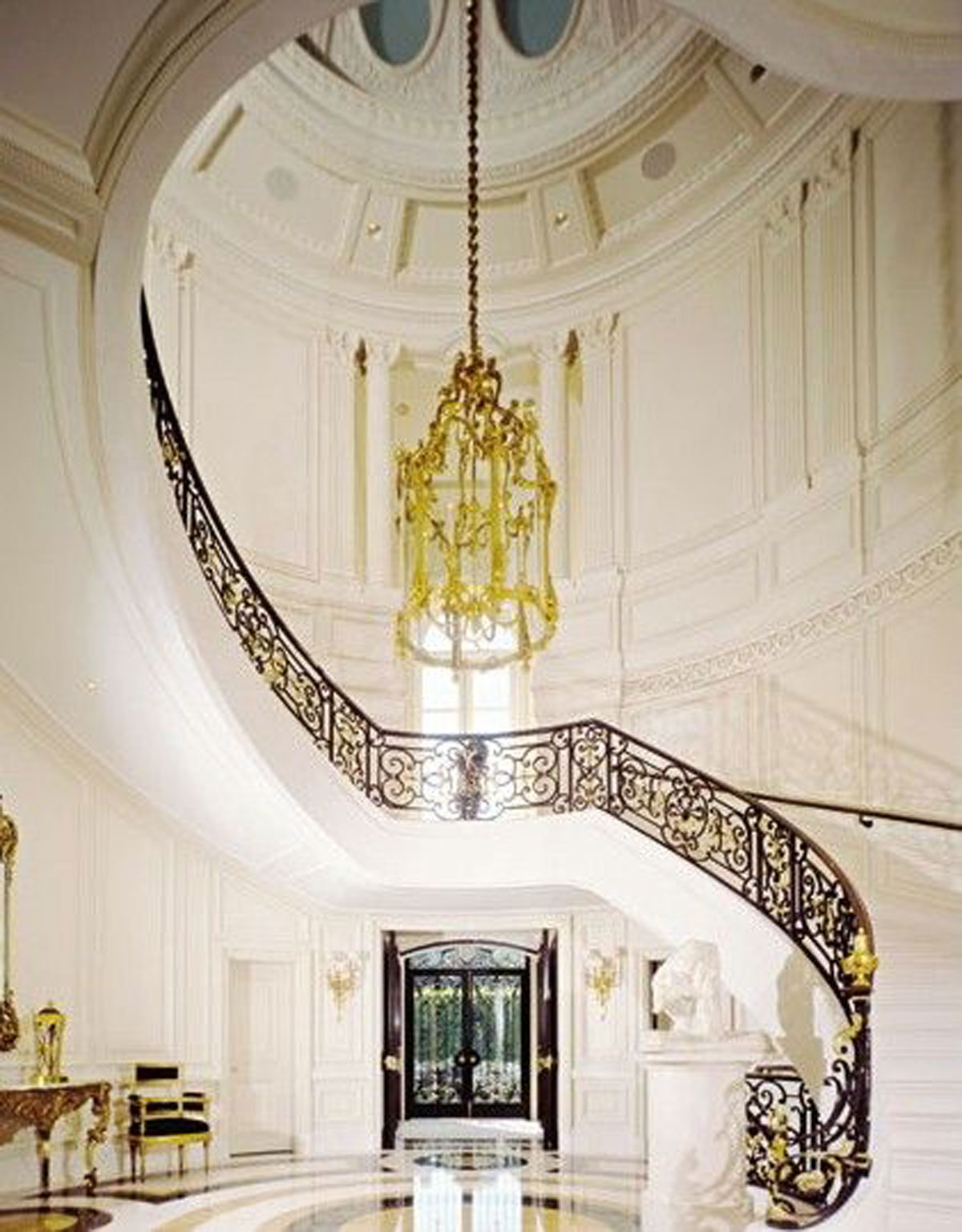 A Design Dream: Artistic Waving Staircase Ideas