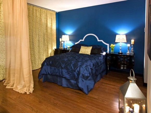 attractive blue bedroom inspirations