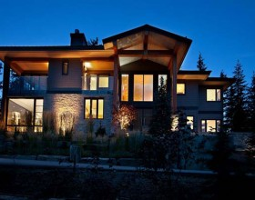 classic mountain residence designs image