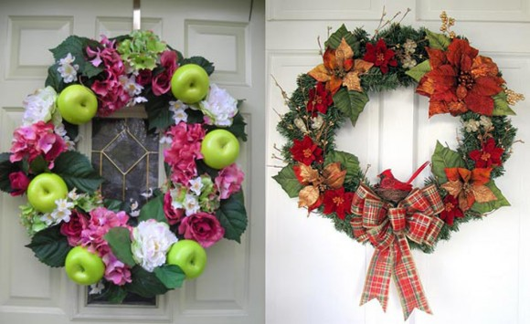 colorful door accessory plans