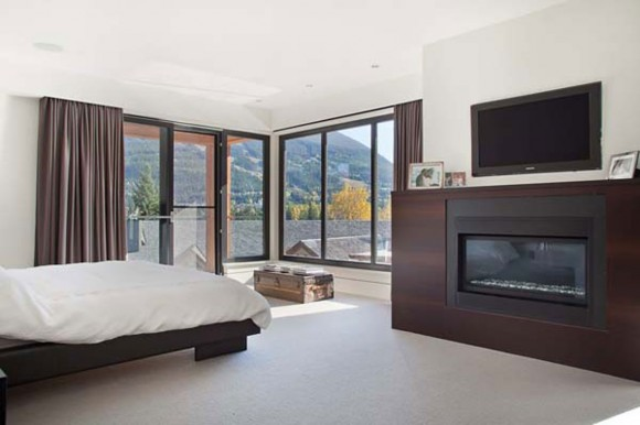 contemporary white bedroom inspirations