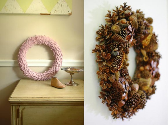 country look christmas wreaths