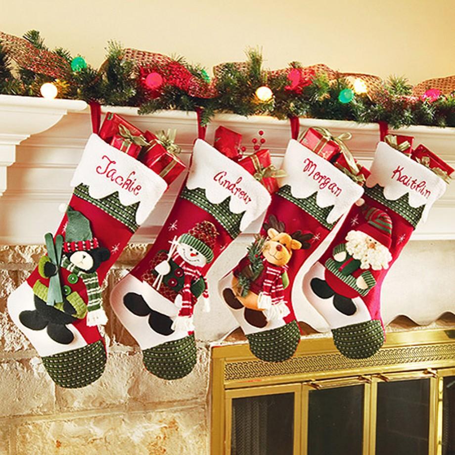 Christmas Stocking Ideas One Of 5 Total Snapshots Attractive Christmas
