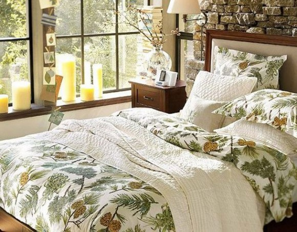 floral pattern bedroom set
