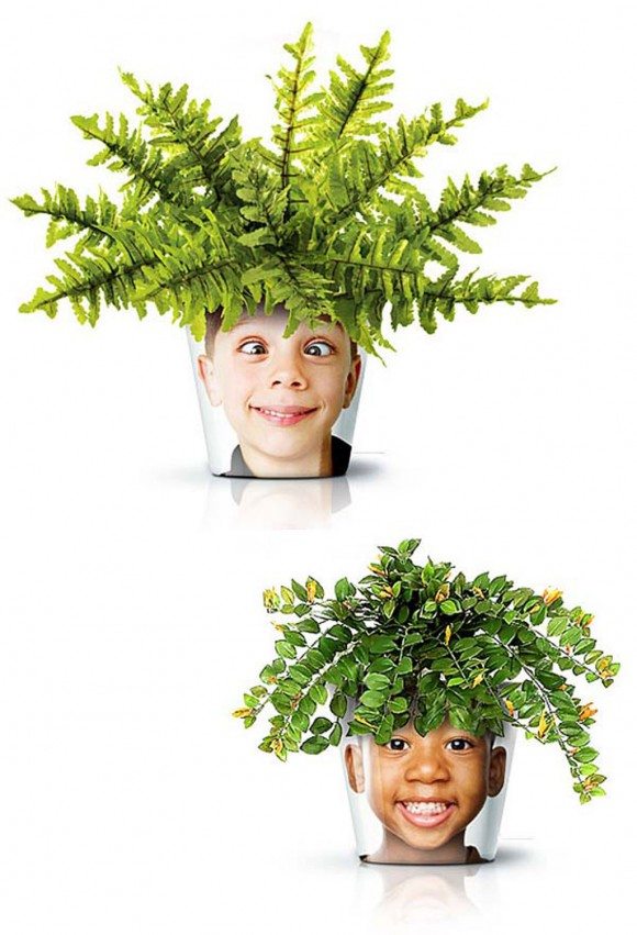 funny pots and planters designs