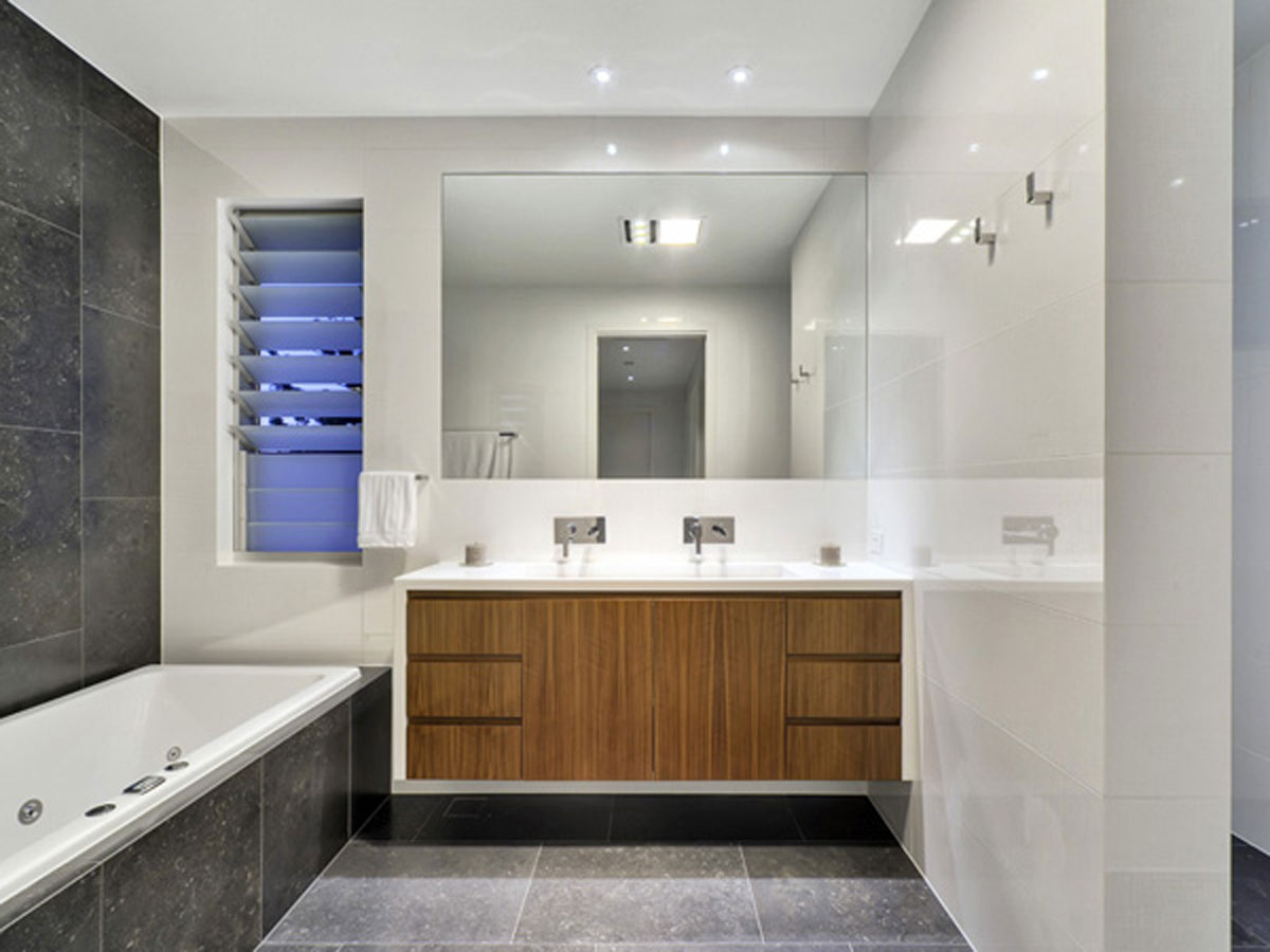 Limited Clear Bathroom Space