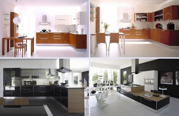 nice kitchen decorations and interior