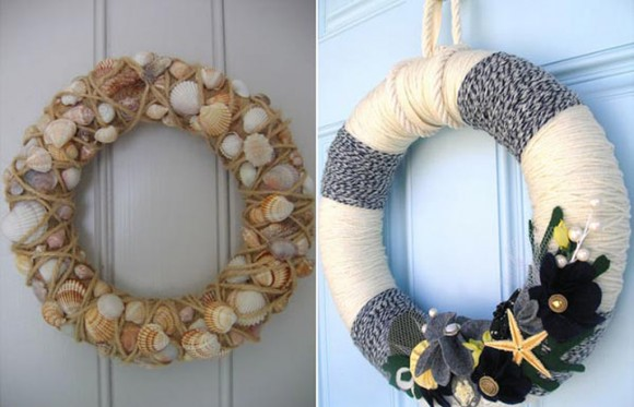 nice simple round wreaths