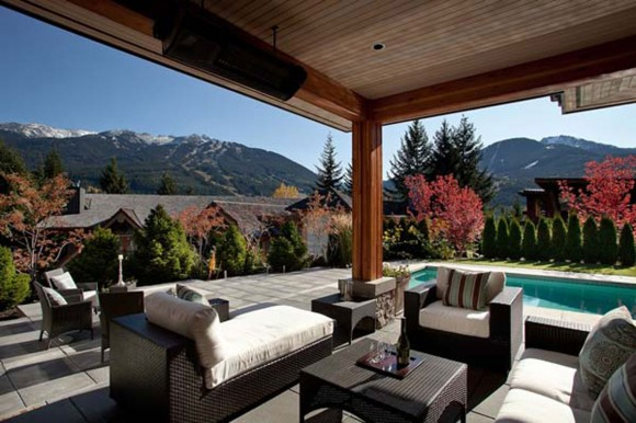 outdoor living room ideas constructions