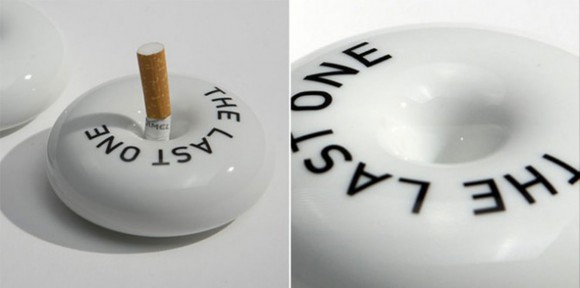single cigarette ashtray layouts