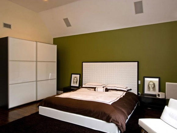 sleek bedroom and wardrobe system