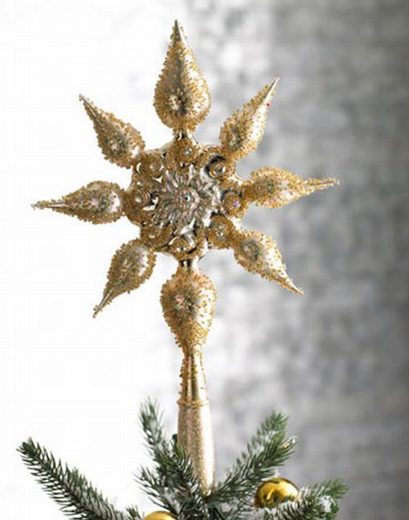star light christmas tree topper accessory
