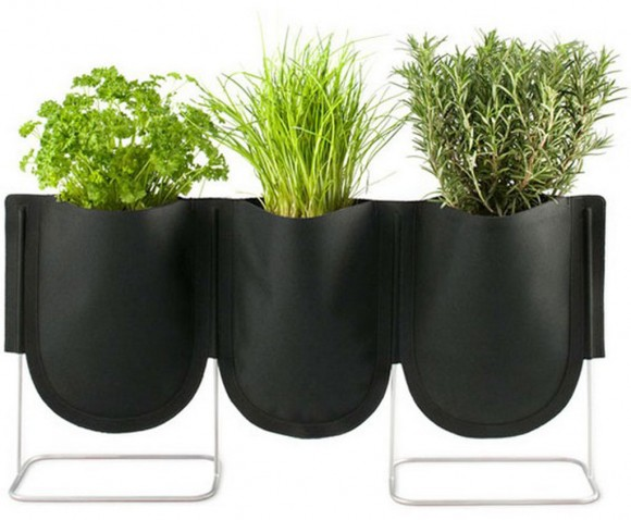 unique denim planters system