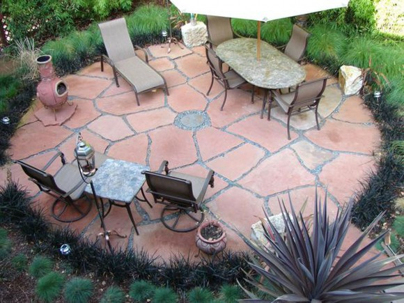 vintage patio furniture ideas